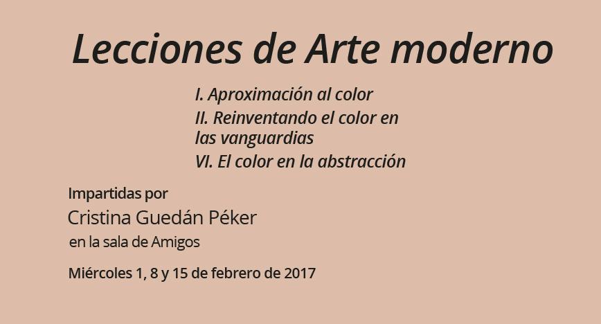 Lecciones de arte moderno