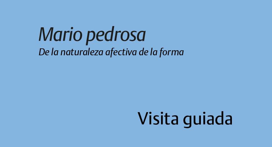 Mário Pedrosa De la naturaleza afectiva de la forma