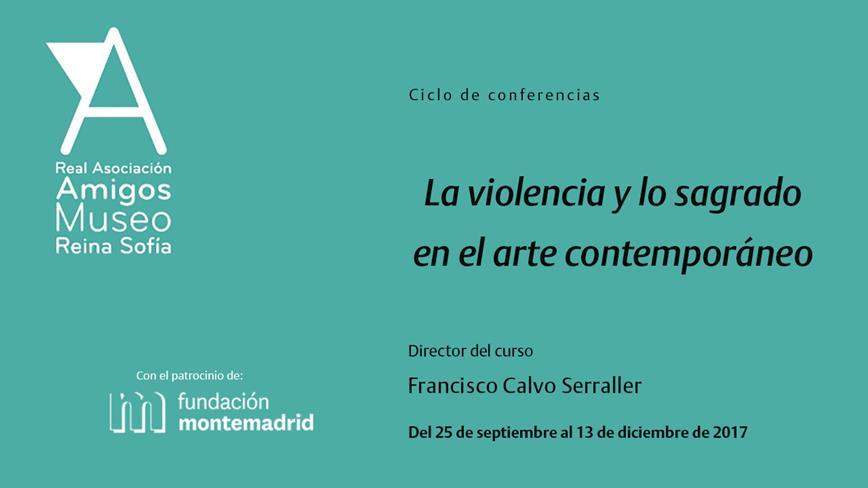 La violencia y lo sagrado  en el arte contemporáneo