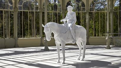 Exposición en el Retiro - Palacio de Cristal