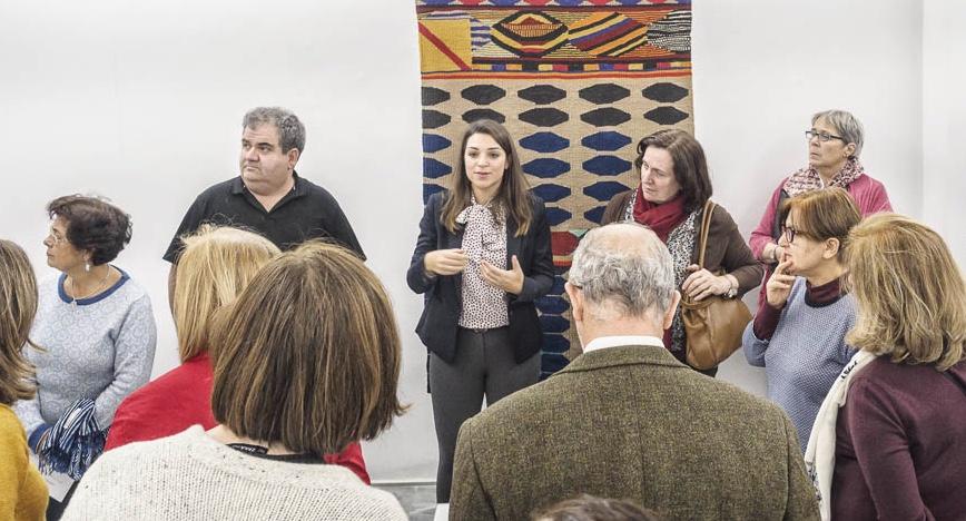 """Diana Lobato: """"Gracias al conocimiento de los Amigos, los Encuentros con Artistas suponen un aprendizaje bidireccional"""""""