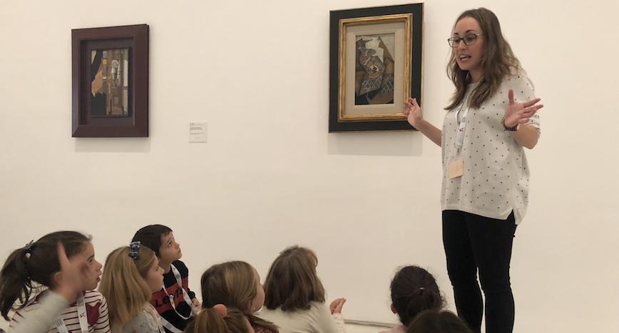 """<b>Paula Ercilla:</b> """"El arte debe ser un poso que nos hace ser personas más completas, tolerantes, creativas y sensibilizadas."""""""