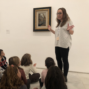 """Paula Ercilla: """"El arte debe ser un poso que nos hace ser personas más completas, tolerantes, creativas y sensibilizadas."""""""
