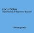 Locus Solus  Impresiones de Raymond Roussel